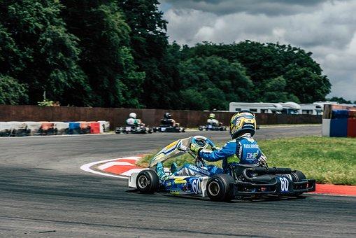 Kart, Karting, Race, Sport, Motor-sport, Uk, British