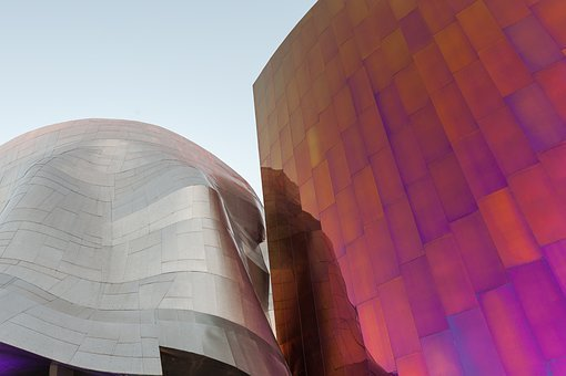 Colors, Metal, Museum, Seattle, Color, Texture, Gold