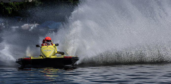 Motor Boat Race, Water Sports, Racing, Racing Boat
