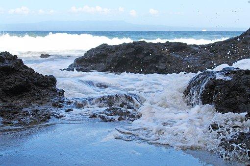 Water, Sea, Beach, Ocean, Summer, Vacations, Blue