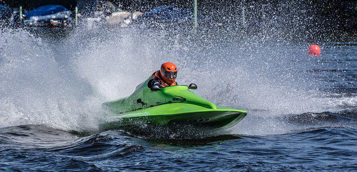 Racing Boat, Water Sports, Motor Boat Race, Grünau