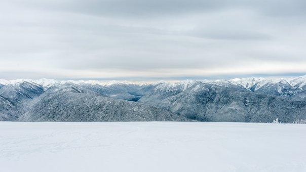 Snow, Park, Ridge, Landscape, Winter, Nature, Usa