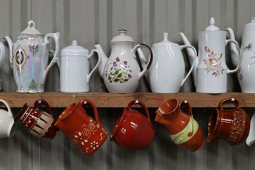 Coffee Machine, Tea Pot, Pot, Drinking, Relax