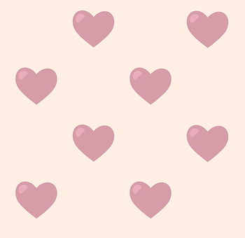Pattern, Hearts, Romantic, Background, Romance, Texture