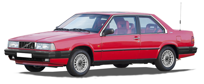 Volvo, 780 Coupe, Isolated, And Edited, Bertone, Car