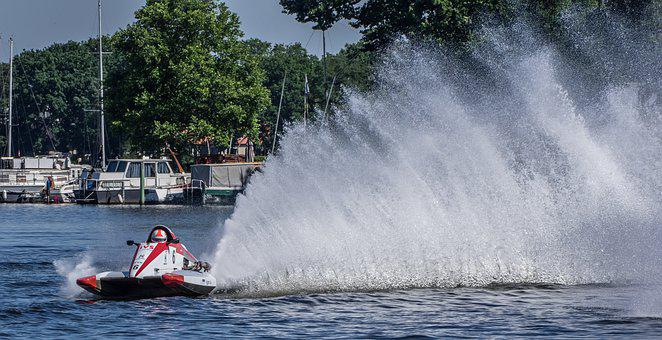 Motor Boat Race, Water Sports, Motorsport, Racing Boat
