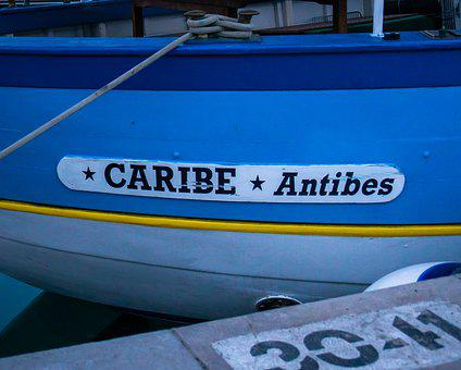 Boat, Wooden, Antibes, France, Marina, Port, Harbour