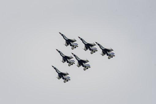 Thunderbirds, Aircraft, Airplanes, Military, Plane