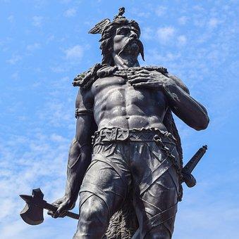 Ambiorix, Statue, The City, Warrior, Leader, One