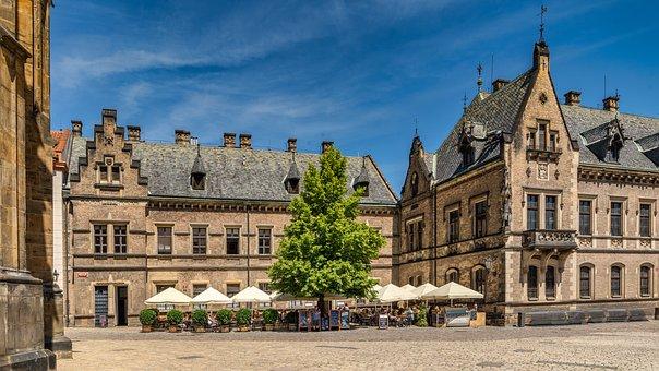 Prague, Castle, City, Architecture, Historically