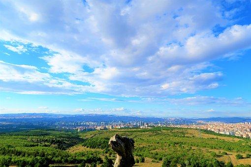 Ankara, City, Panorama, Architecture, Landscape, Urban
