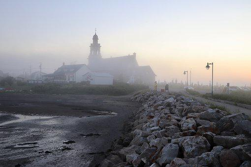 Fog, Mysterious, Mystical, Landscape, Mood, Atmosphere