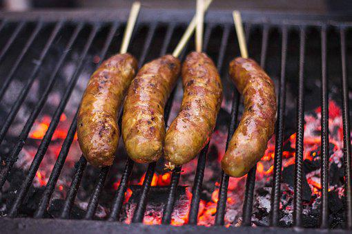 Grill, Sausage, Barbecue, Food, Meat, Eat, Grilled