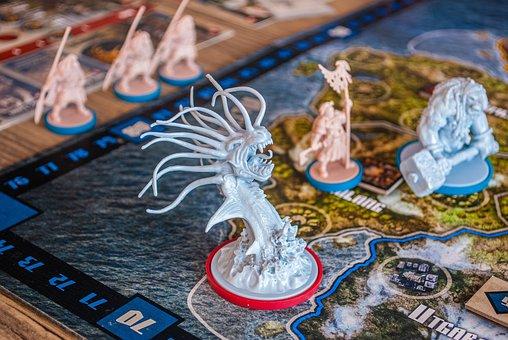 Blood Rage, Tabletop, Games, Boardgames, Geek, Strategy