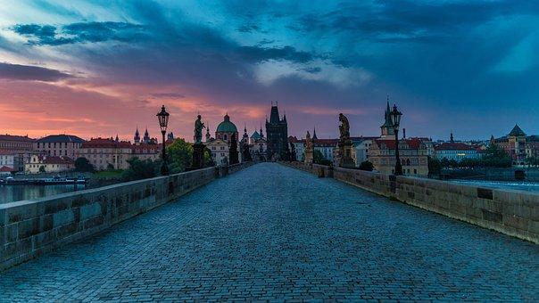 Prague, Bridge, Praha