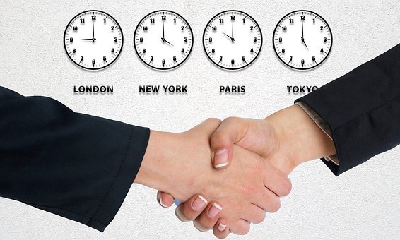 Business, Time, Appointment, Planning, Clock, Handshake