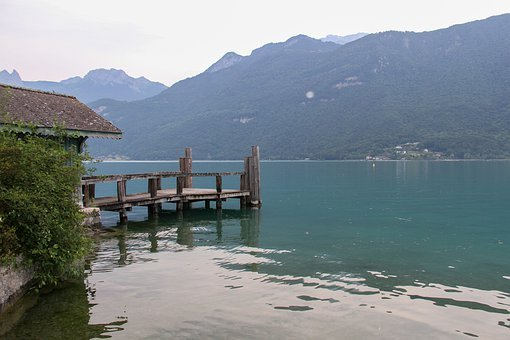 Annecy, Lake, Nature, Water, Landscape, Calm, Mountain