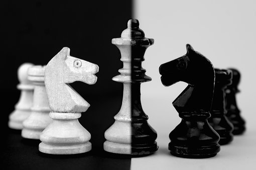Chess, Chess Board, Chess Pieces, Board Game, Play