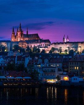Prague, Cathedral, Gothic, Church, Czech, City, Vitus