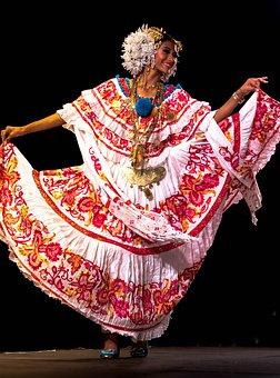 Panama, Woman, Tradition, Costume, Beautiful, Colors
