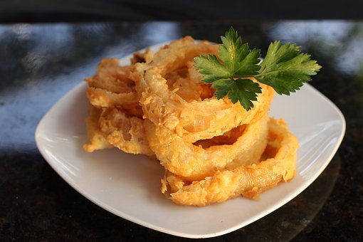 Onion, Frying, Contour, Burger, Food, Cook, Fried