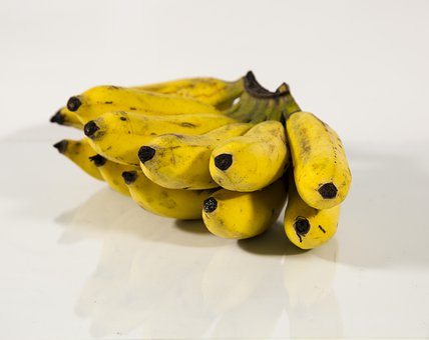 Yellow, Food, Fresh, Fruit, Banana, Tropical, Healthy