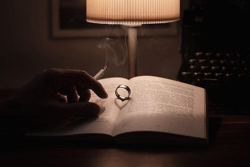 Book, Ring, Love, Paper, Romantic, Jewellery