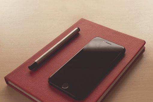 Business, Work, Office, Desk Accessory, Pen, Notebook