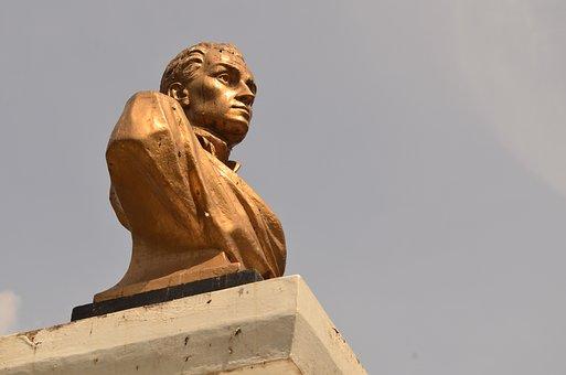 Bolivar, Statue, Architecture, Tourism, Stone, Plaza