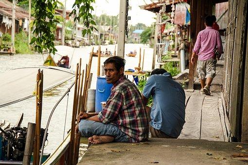 Man, Street, Poor, People, Elderly, Person, Male