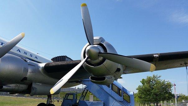 Aircraft, Engine, Rotor Blades, Flying, Rotor