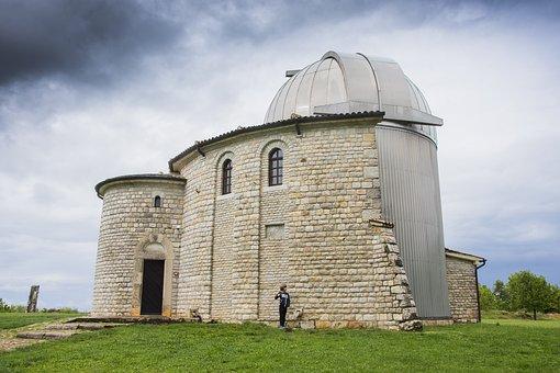 Observatory, Croatia, Building, Science, Stone, Sky