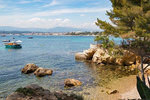 Azur Coast, Côted'azur, South Of France, Sea, Beach