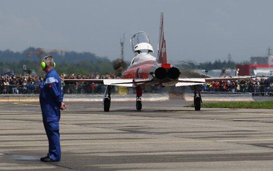 F-5, Tiger, Switzerland, Aircraft, Air Show, Northrop