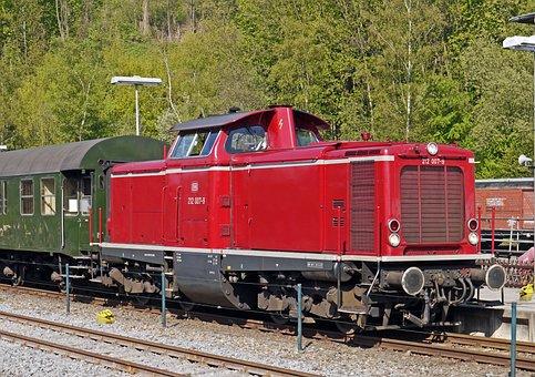 Diesel Locomotive, V 100, Deutsche Bundesbahn, Tag Dare