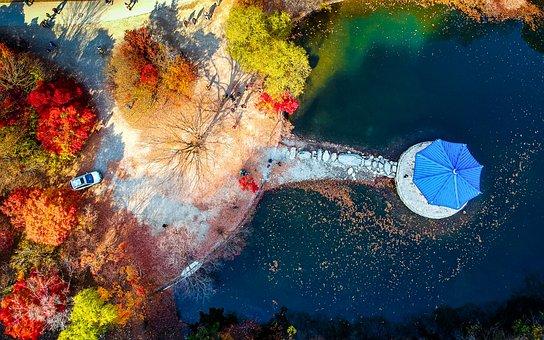 Travel, Nature, Aerial, Drone, Landscape, Ocean, Sky