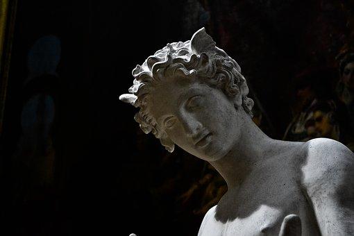 Statue, Art, Sculpture, Figure, Artwork, Angel, Talk