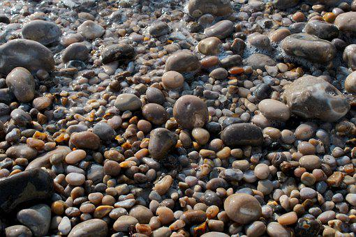 Stones, Water, Sea, Round, Pebbles, Pebble, Coast