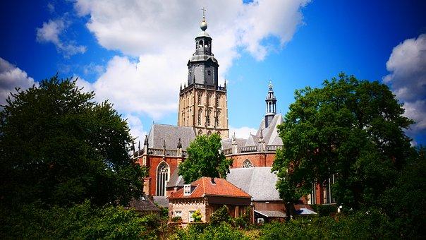Zutphen, Cityscape, City, Village, Facade, Facades