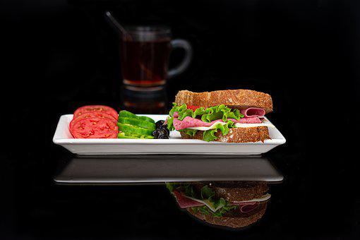 Sandwich, Food, Bread, Lunch, Breakfast, Eat, Snack