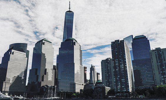 New York, Manhattan, Freedom Tower, City, Skyline