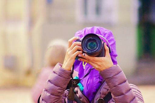 Photo, Photographer, Camera, Lens, Girl, Digital, Woman
