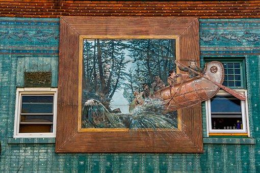 Pembroke Ontario, Wall Mural, Art, Graffiti, Painted