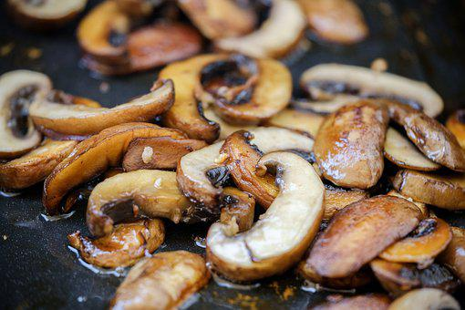 Barbecue, Grilled, Grill, Mushrooms, Vegetables, Vegan