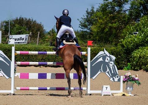 Horse Jumping, Equestrian, Horse, Jump, Jumping