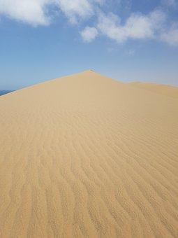 Namibia, Sand Dunes, Desert, Sun, Landscape