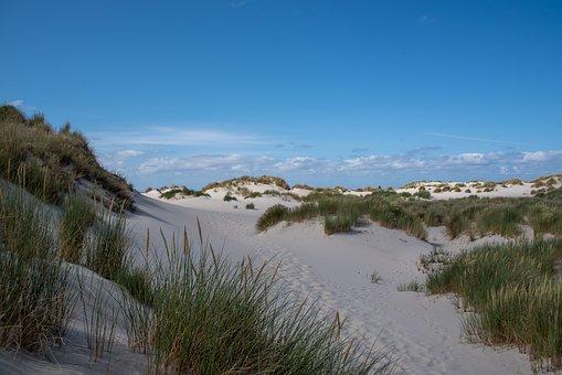 Dunes, Sand, Landscape, Summer, Nature, Travel