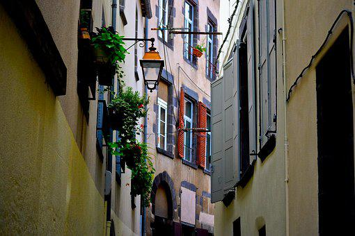 Street, Lamp, Floor Lamp, Lantern, City, Light, Night
