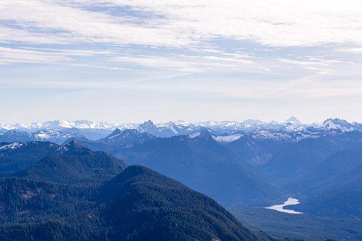 Peaks, Lake, Mountains, Landscape, Nature, Water