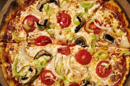 Pizza, Dough, Food, Tomato, Cheese, Delicious, Fresh